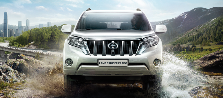 Парктроник для автомобилей Toyota Land Cruiser Prado
